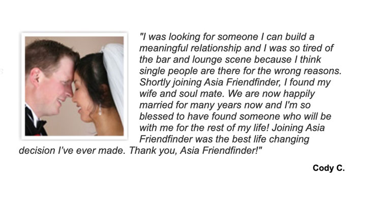 AsiaFriendFinder happy couple
