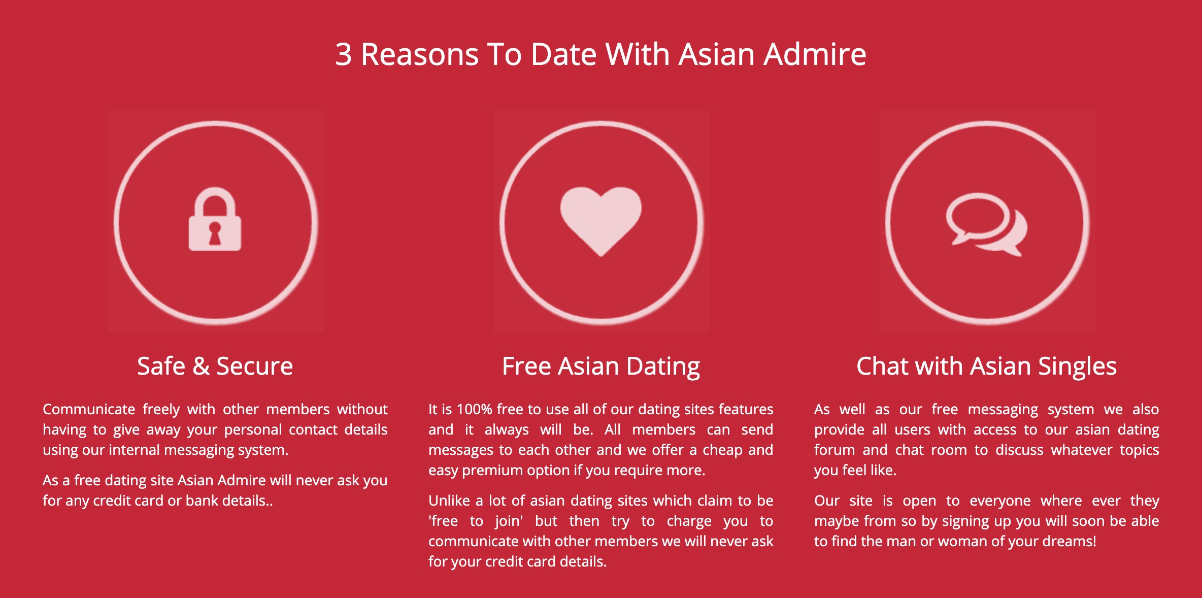 AsianAdmire 3 reason to date