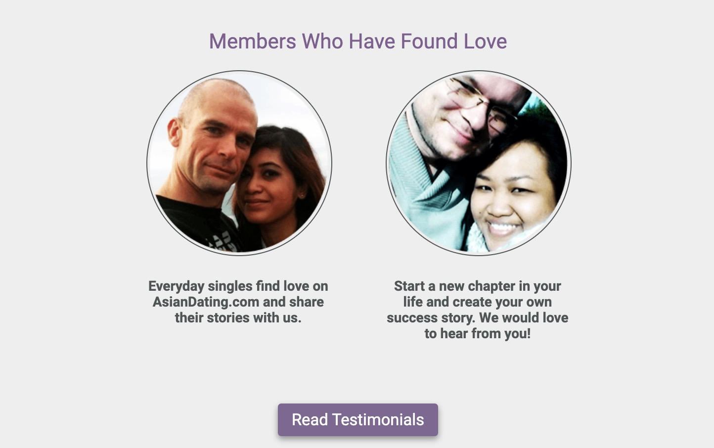 AsianDating members who found love