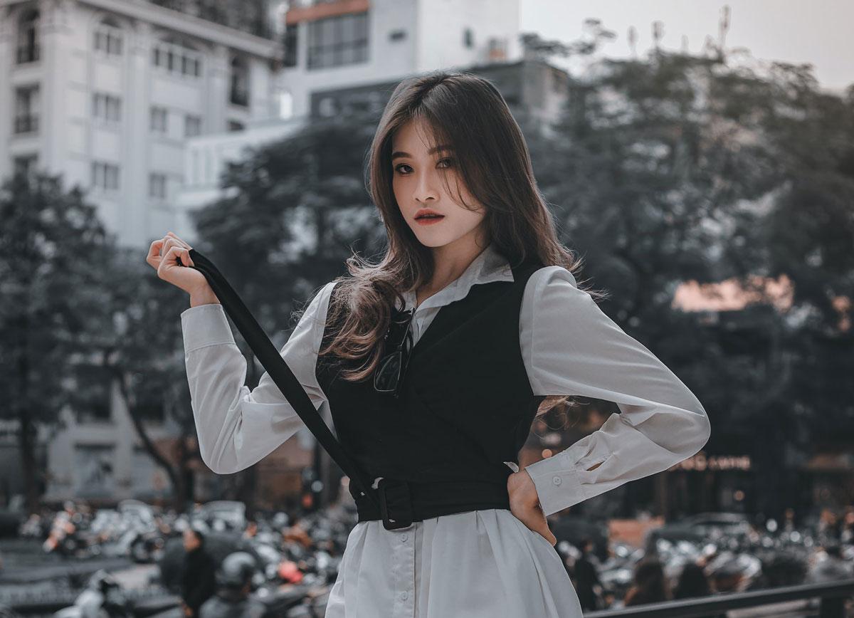 Korean passionate girl